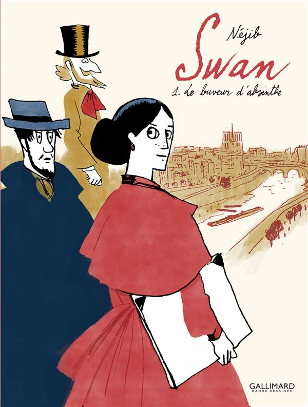 SWAN T.1  -  LE BUVEUR D'ABSINTHE