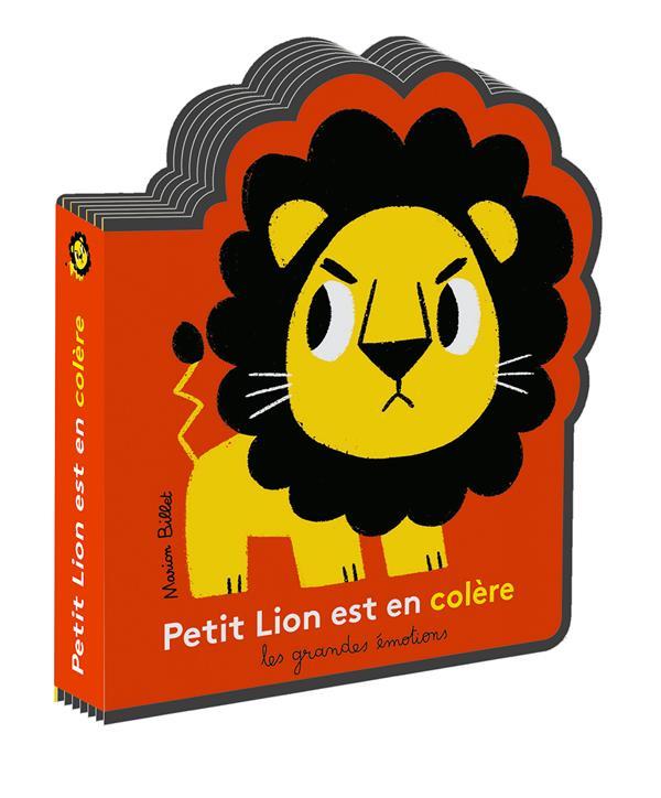 PETIT LION EST EN COLERE BILLET MARION Gallimard-Jeunesse