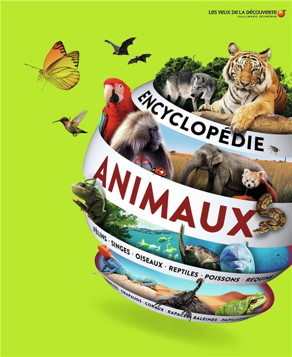 ENCYCLOPEDIE DES ANIMAUX  Gallimard-Jeunesse
