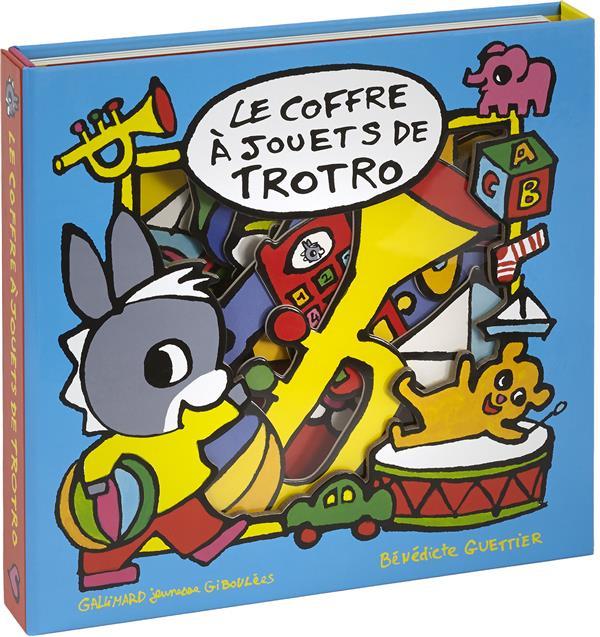 LE COFFRE A JOUETS DE TROTRO - LIVRE-PUZZLE