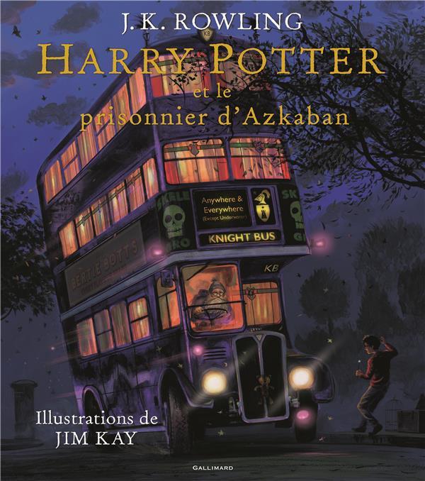 HARRY POTTER, III : HARRY POTTER ET LE PRISONNIER D'AZKABAN ROWLING/KAY Gallimard-Jeunesse