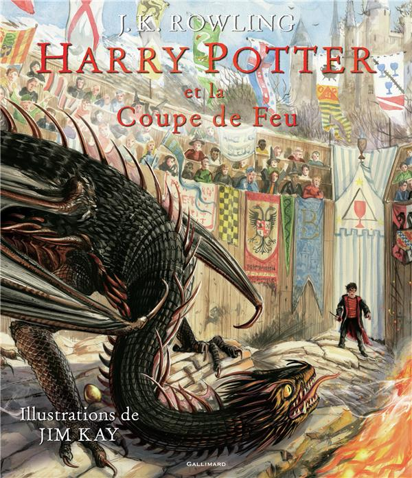 HARRY POTTER, IV : HARRY POTTER ET LA COUPE DE FEU ROWLING/KAY GALLIMARD