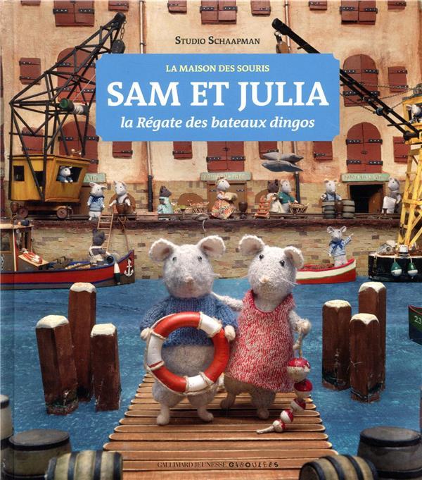 SAM ET JULIA  -  LA REGATE DES BATEAUX DINGOS