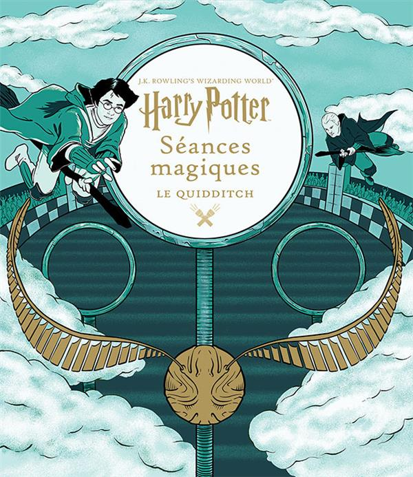 J.K. ROWLING'S WIZARDING WORLD : HARRY POTTER : SEANCES MAGIQUES, 3   LE QUIDDITCH