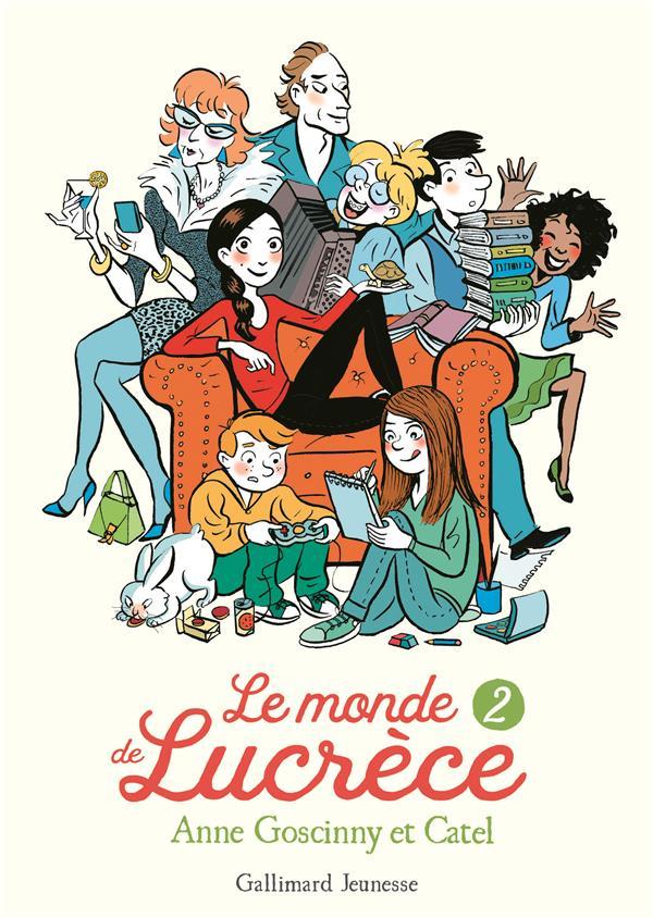 LE MONDE DE LUCRECE, 2 GOSCINNY/CATEL NC