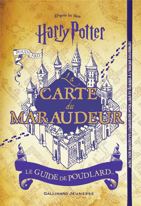 HARRY POTTER  -  LA CARTE DU MARAUDEUR COLLECTIF NC