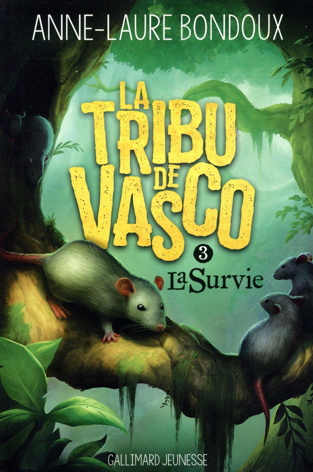 LA TRIBU DE VASCO 3  GALLIMARD
