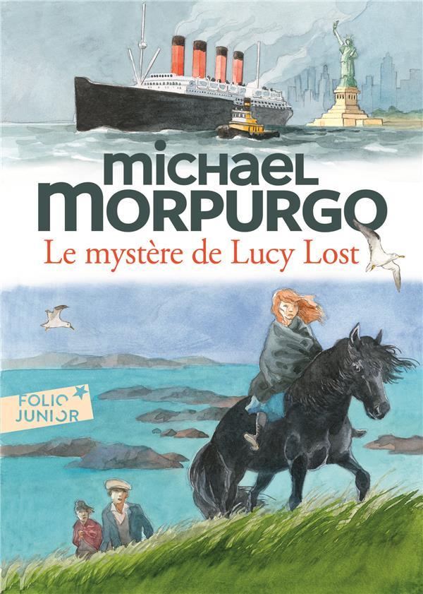 LE MYSTERE DE LUCY LOST  GALLIMARD