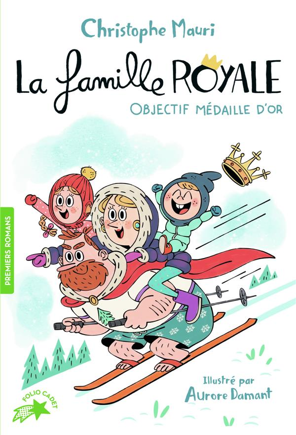 LA FAMILLE ROYALE T.2  -  OBJECTIF MEDAILLE D'OR