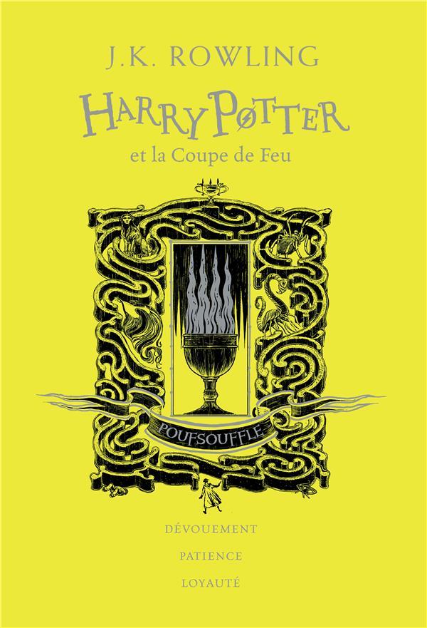 HARRY POTTER ET LA COUPE DE FEU - EDITION POUFSOUFFLE ROWLING, J. K.  GALLIMARD