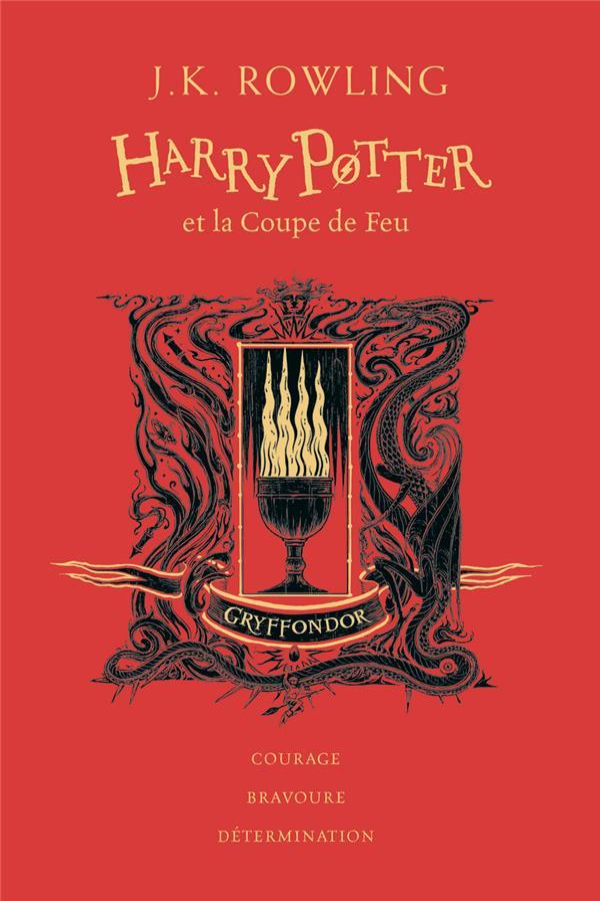 HARRY POTTER T.4  -  HARRY POTTER ET LA COUPE DE FEU ROWLING, J. K.  GALLIMARD