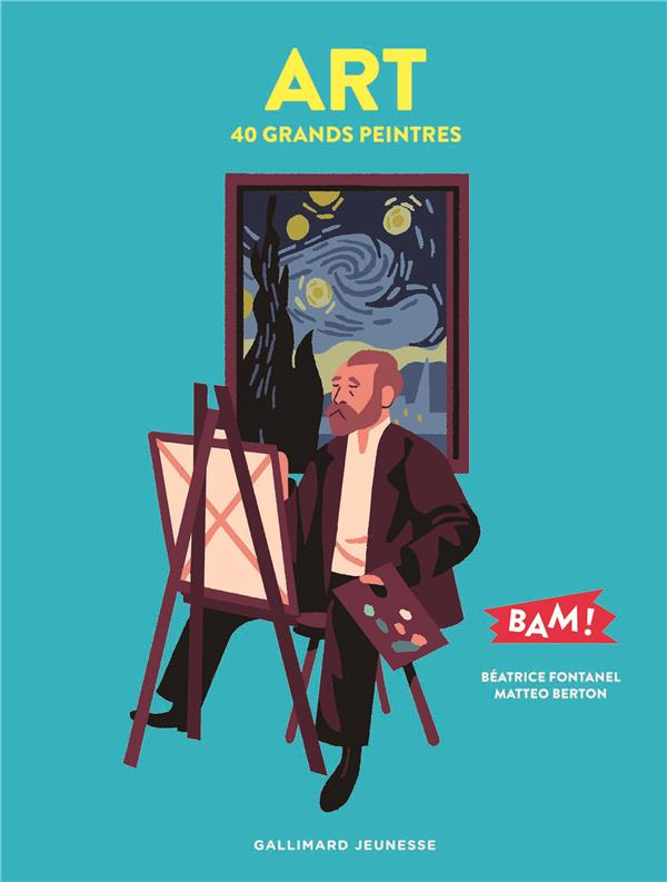 ART - 40 GRANDS PEINTRES