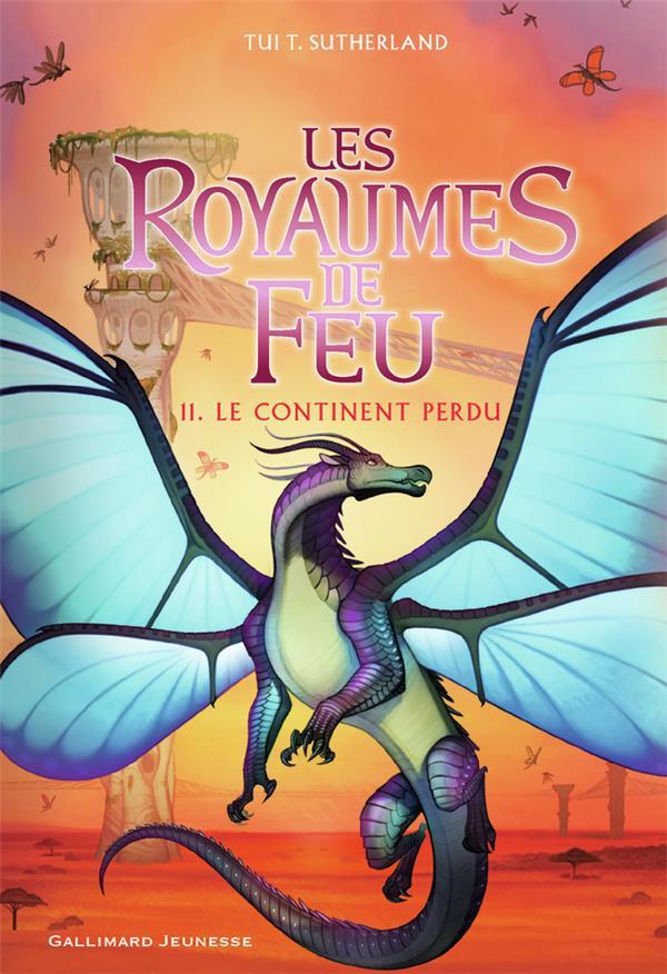 LES ROYAUMES DE FEU T.11  -  LE CONTINENT PERDU