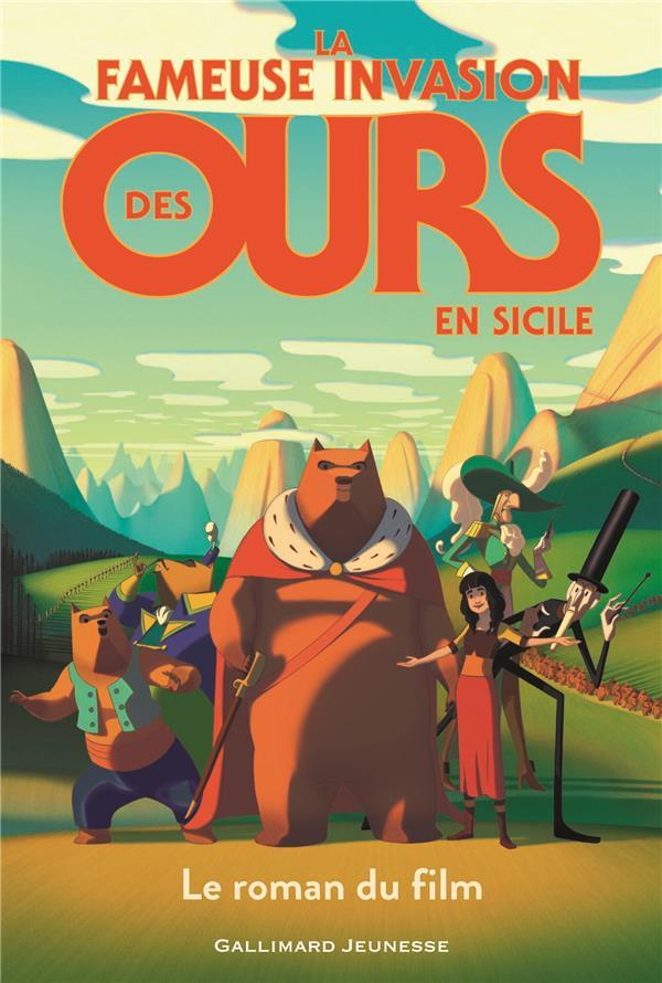 LA FAMEUSE INVASION DES OURS EN SICILE, LE ROMAN DU FILM