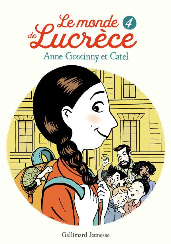 LE MONDE DE LUCRECE, 4 GOSCINNY/CATEL GALLIMARD