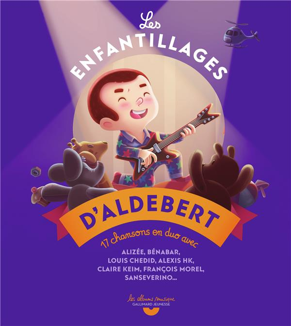 LES ENFANTILLAGES D'ALDEBERT ALDEBERT GALLIMARD