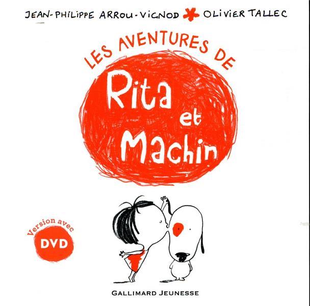 LES AVENTURES DE RITA ET MACHIN - 1 LIVRE, 1 DVD