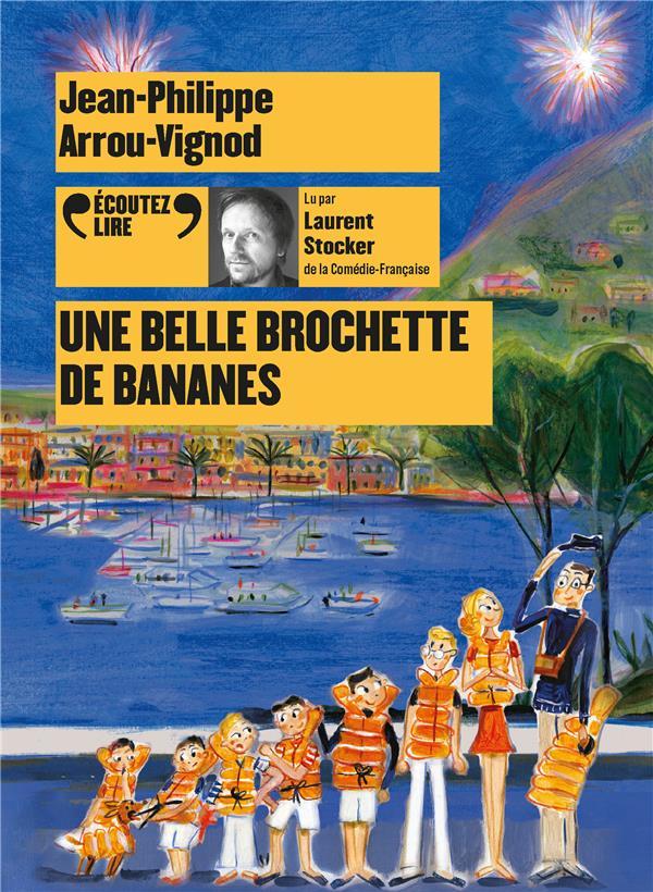 UNE BELLE BROCHETTE DE BANANES -