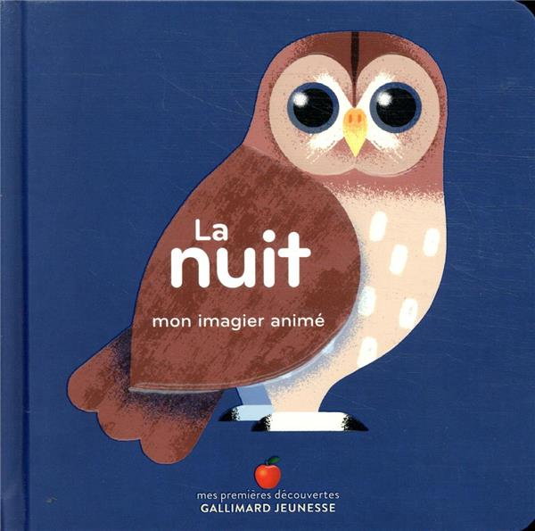 LA NUIT  -  MON IMAGIER ANIME