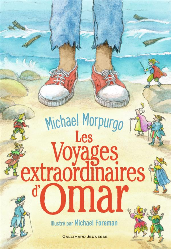 LES VOYAGES EXTRAORDINAIRES D'OMAR MORPURGO MICHAEL GALLIMARD