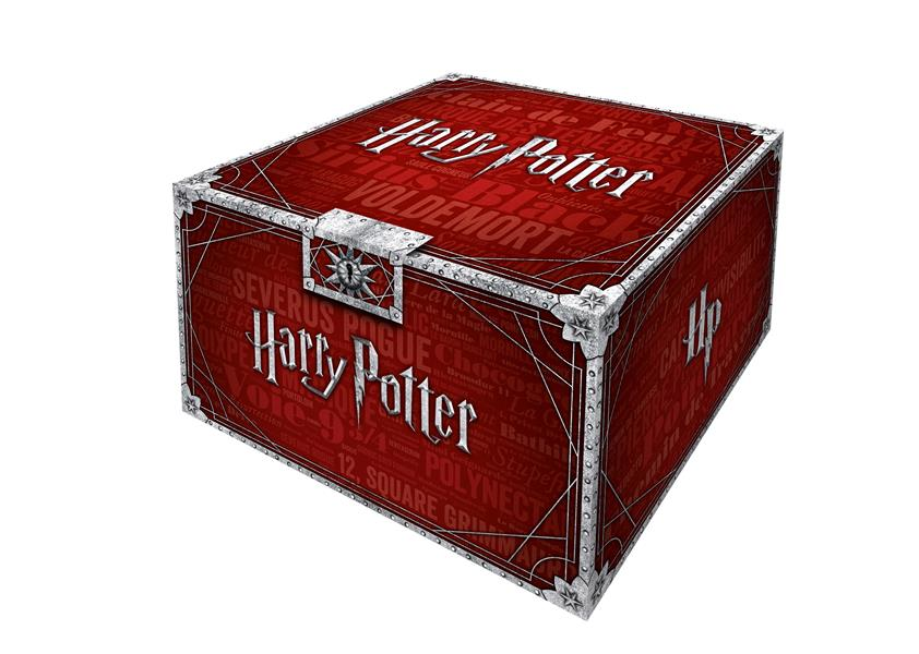 HARRY POTTER  -  COFFRET COLLECTOR   -  T.1 A T.7 ROWLING J.K. GALLIMARD