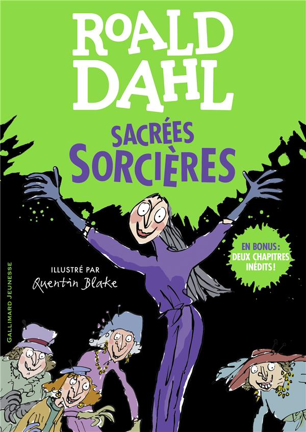 SACREES SORCIERES DAHL/BLAKE GALLIMARD