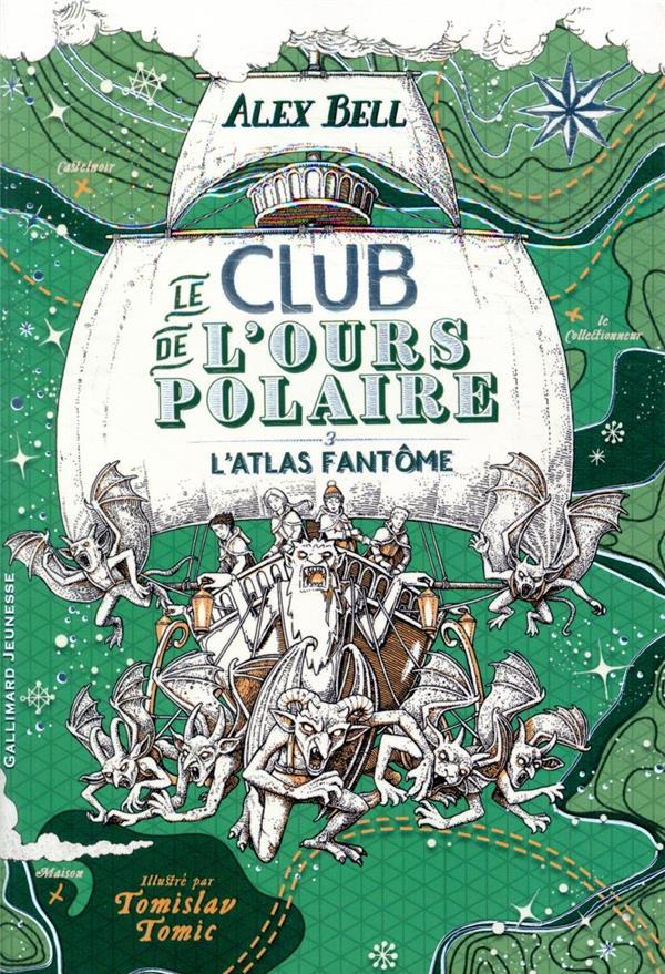 LE CLUB DE L'OURS POLAIRE T.3  -  LE PONT DE GLACE NOIR