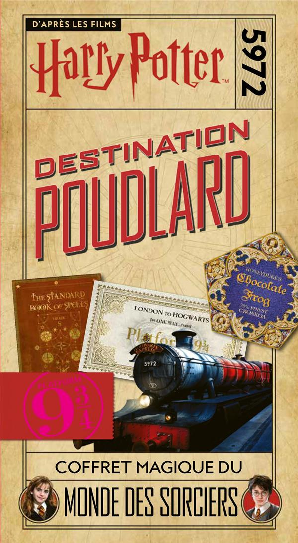HARRY POTTER - DESTINATION POUDLARD COLLECTIF GALLIMARD