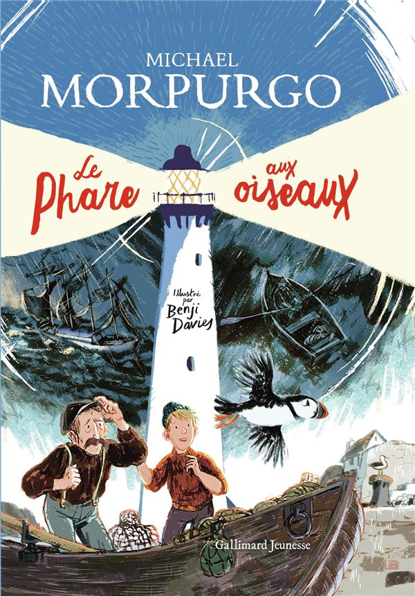 LE PHARE AUX OISEAUX MORPURGO/DAVIES GALLIMARD