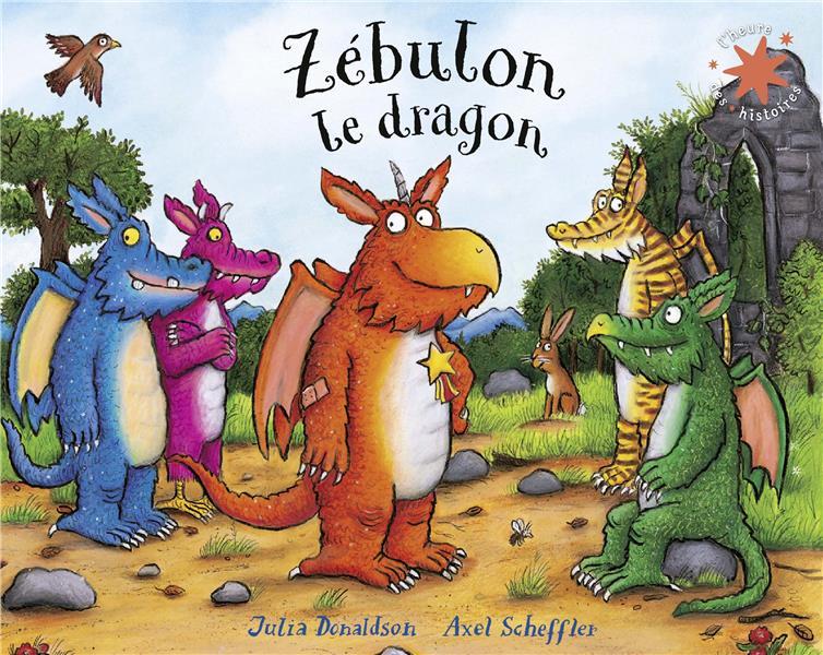 ZEBULON LE DRAGON DONALDSON, JULIA GALLIMARD