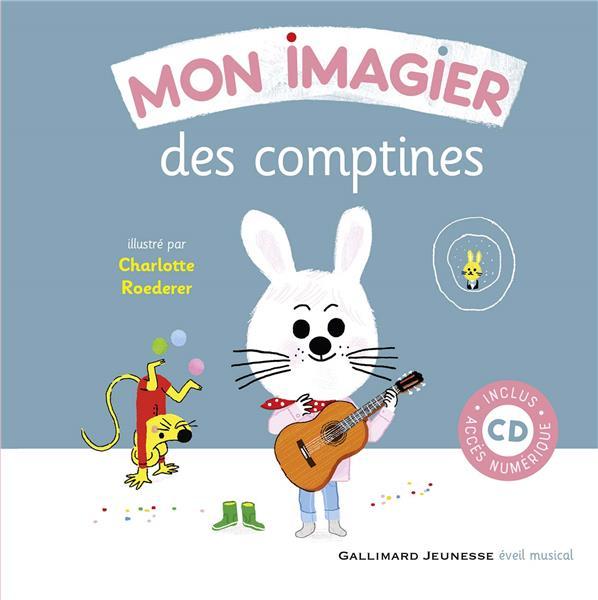 MON IMAGIER DES COMPTINES  COLLECTIF GALLIMARD