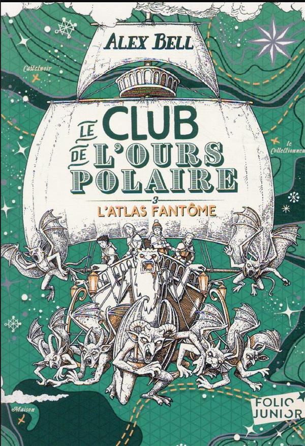 LE CLUB DE L'OURS POLAIRE T.3  -  L'ATLAS FANTOME