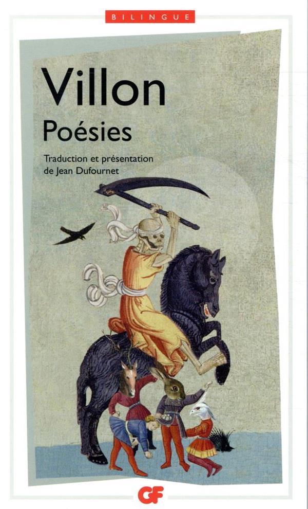 POESIES VILLON FRANCOIS FLAMMARION