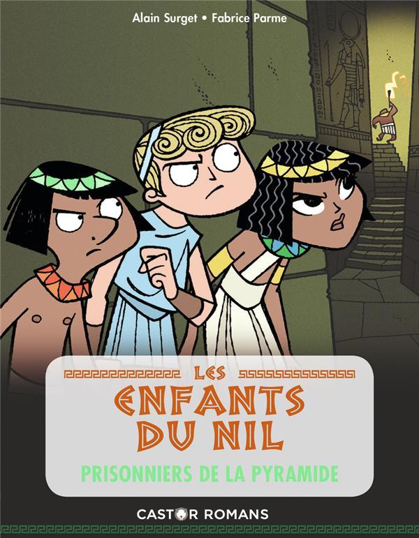 LES ENFANTS DU NIL T.3  -  PRISONNIERS DE LA PYRAMIDE