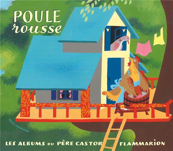 POULE ROUSSE LIDA/MOREL FLAMMARION