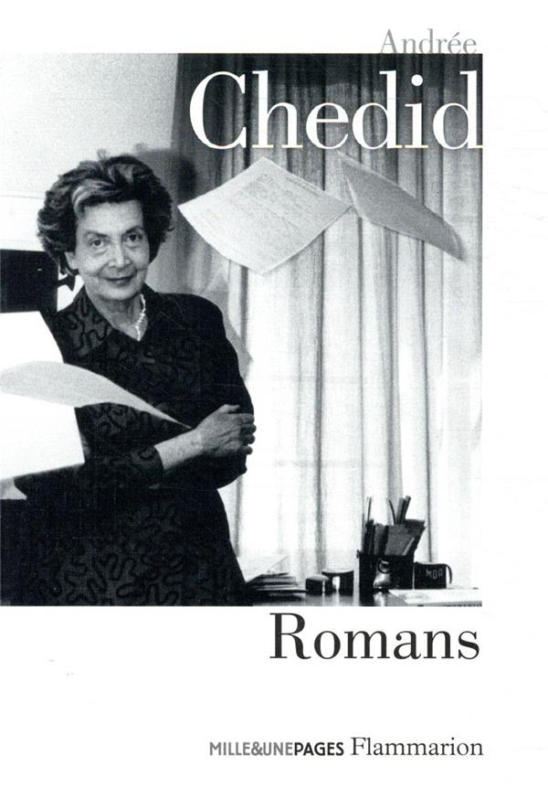 ANDREE CHEDID, ROMANS