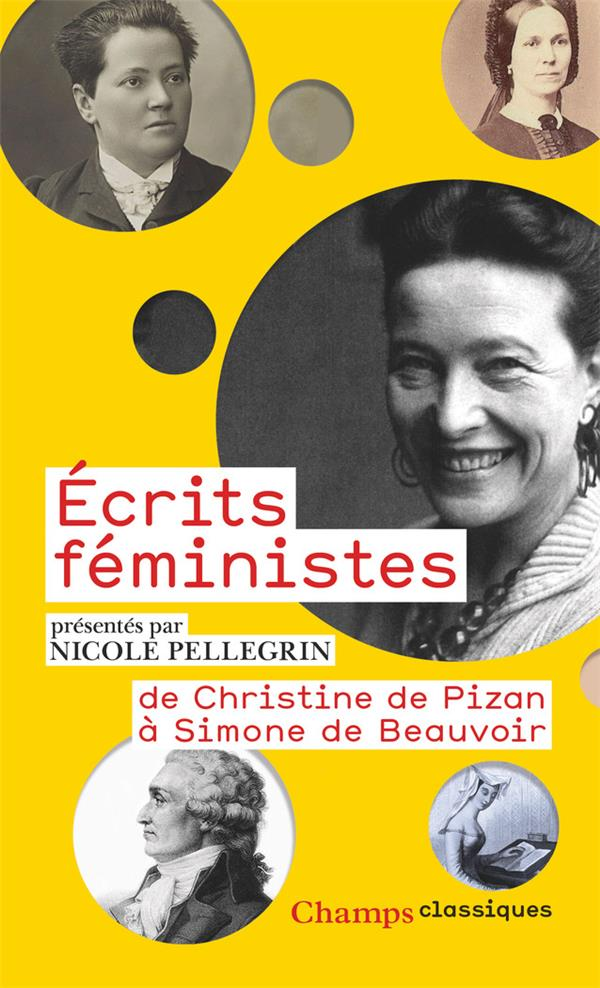 ECRITS FEMINISTES  -  DE CHRISTINE DE PIZON A SIMONE DE BEAUVOIR COLLECTIF FLAMMARION
