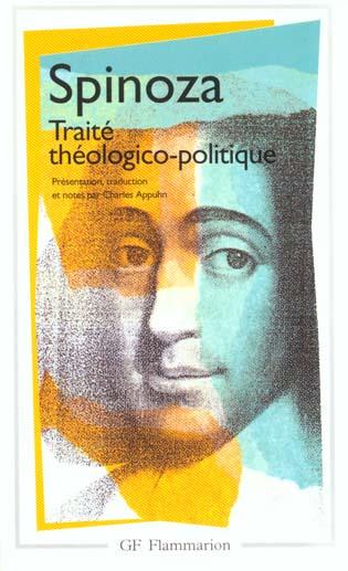 TRAITE THEOLOGICO-POLITIQUE SPINOZA FLAMMARION