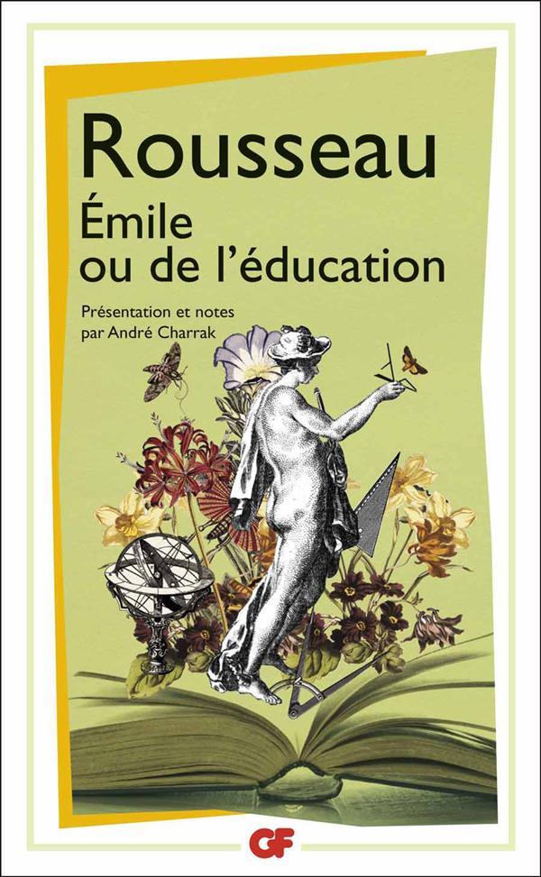 EMILE OU DE L'EDUCATION ROUSSEAU JEAN-JACQUE FLAMMARION
