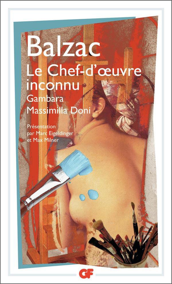 LE CHEF D'OEUVRE INCONNU (NE 2008)