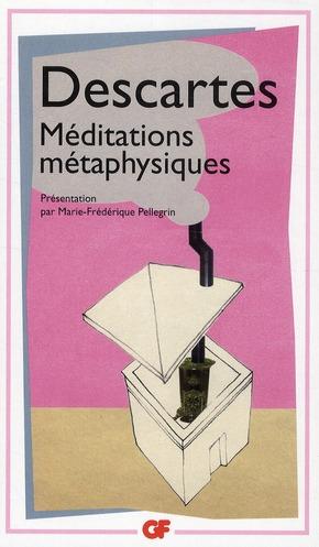 MEDITATIONS METAPHYSIQUES - OBJECTIONS ET REPONSES DESCARTES RENE FLAMMARION