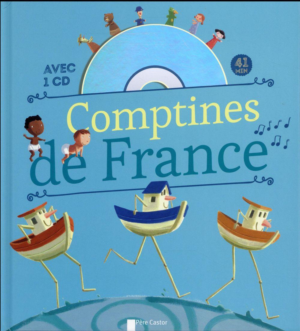COMPTINES DE FRANCE  LE GOFF, HERVE FLAMMARION