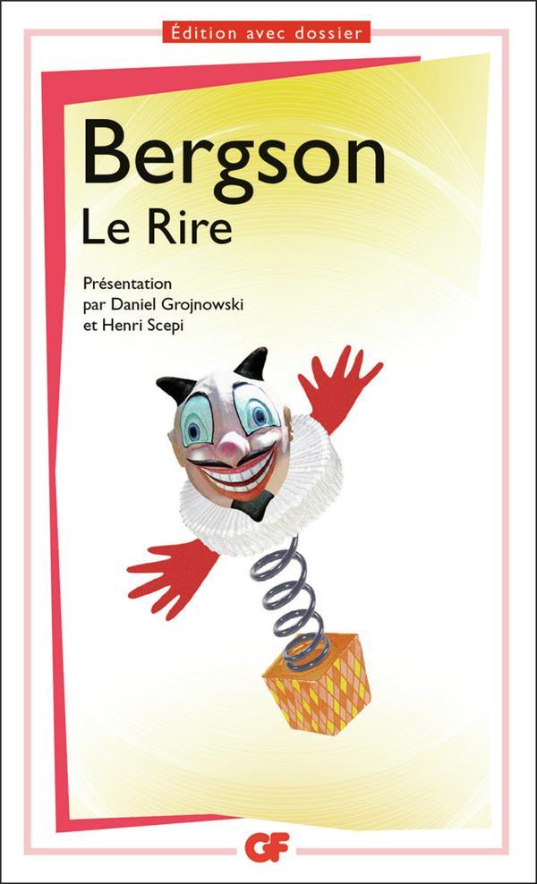 LE RIRE  BERGSON, HENRI Flammarion