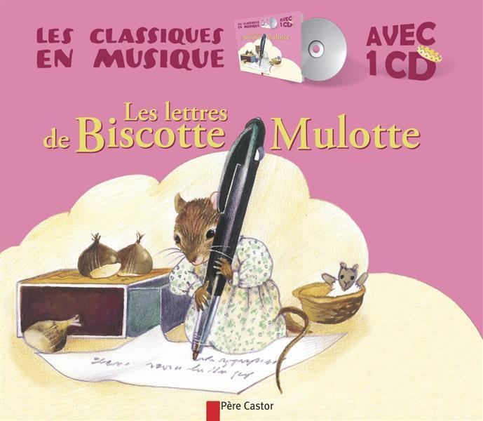 LES LETTRES DE BISCOTTE MULOTTE Bourre Martine Père Castor-Flammarion