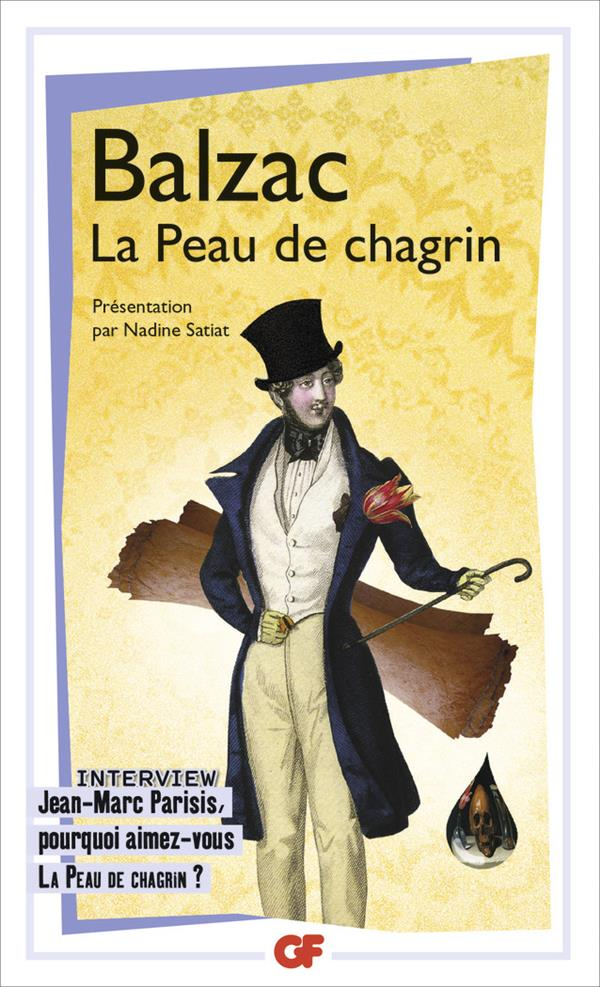 LA PEAU DE CHAGRIN BALZAC HONORE DE FLAMMARION