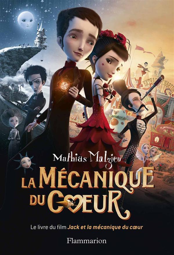 LA MECANIQUE DU COEUR MALZIEU MATHIAS Flammarion