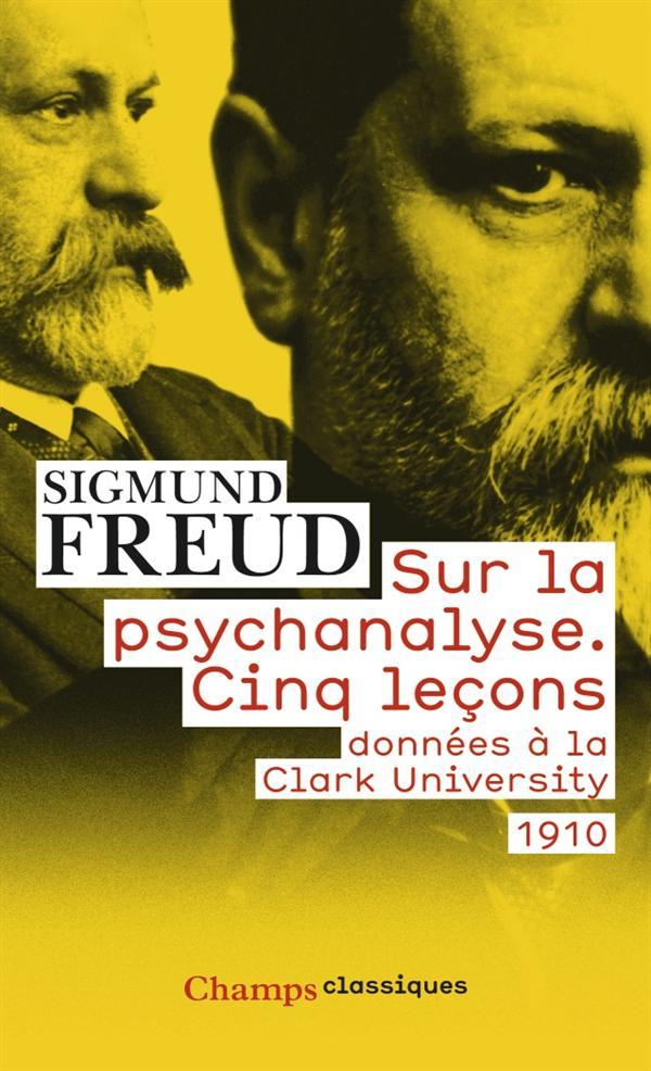 SUR LA PSYCHANALYSE FREUD SIGMUND Flammarion