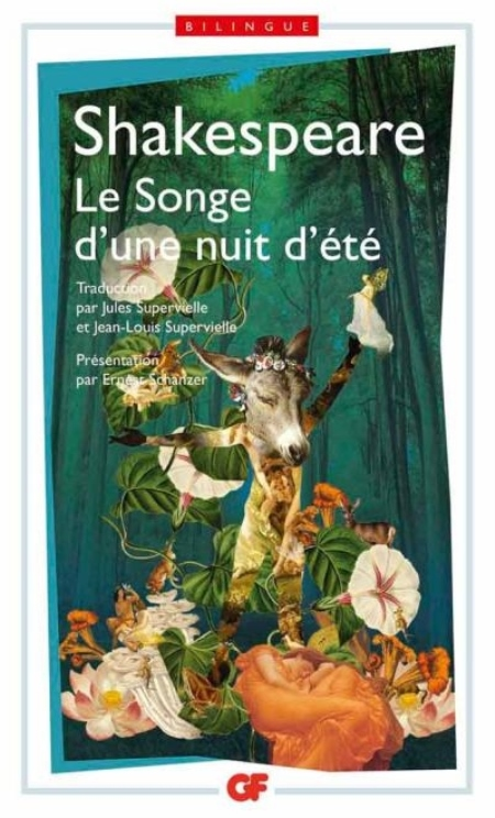 LE SONGE D'UNE NUIT D'ETE SHAKESPEARE WILLIAM Flammarion