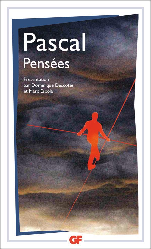 PENSEES PASCAL/BERTHEMET Flammarion