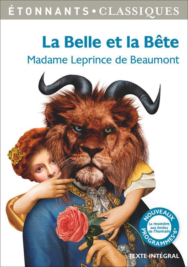 LA BELLE ET LA BETE ET AUTRES CONTES Leprince de Beaumont Jeanne-Marie Flammarion